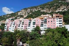 Flerfamiljshus Gibraltar Royaltyfria Bilder