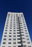 flervånings- byggnadskonstruktion Arkivfoto