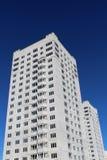 flervånings- byggnadskonstruktion Arkivbild