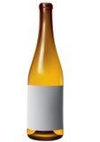 Fles 2 van de wijn Stock Afbeeldingen