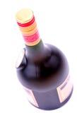 Fles alcoholische drank Stock Afbeeldingen