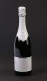 Fles champange. Stock Afbeeldingen