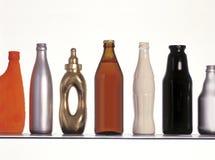 Fles, de vorm van de de industriefles stock afbeeldingen