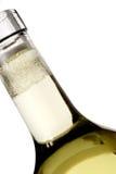 Fles en bellen Royalty-vrije Stock Foto's