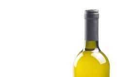 Fles fijne Italiaanse witte wijn Royalty-vrije Stock Fotografie