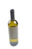 Fles fijne Italiaanse witte wijn Stock Afbeeldingen