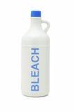 Fles huishoudenbleekmiddel Stock Afbeelding