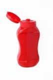 Fles ketchup Royalty-vrije Stock Foto