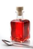 Fles met geneeskunde Royalty-vrije Stock Foto's