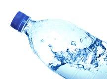 Fles Mineraalwater Stock Foto's