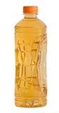 Fles natuurlijk appelsap Royalty-vrije Stock Foto's