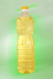 Fles olie stock foto
