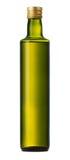 Fles olijfolie stock foto's