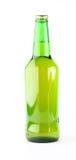 Fles op een witte achtergrond Royalty-vrije Stock Afbeeldingen
