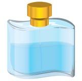 Fles parfum Royalty-vrije Stock Afbeeldingen