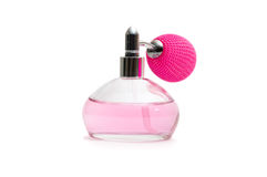 Fles parfum Royalty-vrije Stock Afbeelding