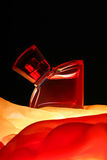 Fles parfume Royalty-vrije Stock Fotografie