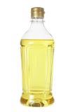 Fles Plantaardige olie stock foto's