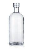 Fles Russische wodka Royalty-vrije Stock Afbeeldingen