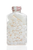 Fles van aspirine Stock Fotografie