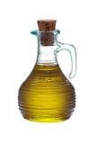 Fles van maagdelijke olijf Stock Foto's