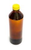 Fles van organisch oplosmiddel stock foto's