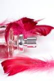 Fles van parfum royalty-vrije stock fotografie