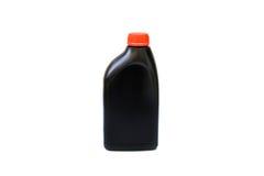 Fles van smeermiddel voor geïsoleerde auto stock foto's