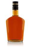 Fles van sterke drank Stock Foto's