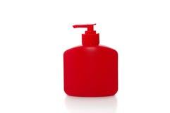 Fles van vloeibare zeep Royalty-vrije Stock Afbeeldingen