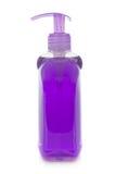 Fles van vloeibare zeep Stock Afbeeldingen