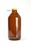 Fles vruchtesap Stock Foto's