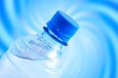 Fles water royalty-vrije stock afbeeldingen
