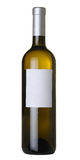 Fles wijn royalty-vrije stock afbeeldingen