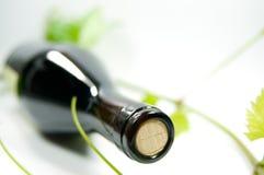 Fles wijn Royalty-vrije Stock Afbeelding