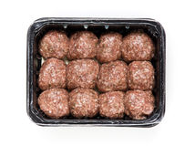 Flesh meat product for cooking packed in box Royalty Free Stock Photography