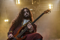 Fleshgod Apocalypse in Hellfest 2016 Royalty Free Stock Images