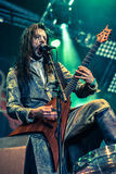 Fleshgodapocalyps in Hellfest 2016 Royalty-vrije Stock Foto's