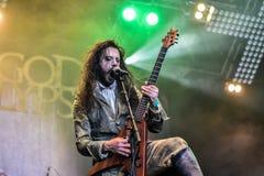 Fleshgodapocalyps in Hellfest 2016 Royalty-vrije Stock Fotografie