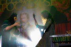 Fleshgodapocalyps in Hellfest 2016 Stock Foto's