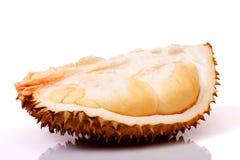 Fleshs del Durian di freschezza sulla pelle Fotografia Stock