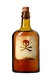 Flesje met vergift Royalty-vrije Stock Afbeeldingen