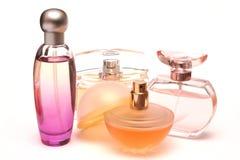 Flessen 1 van het parfum Stock Foto's
