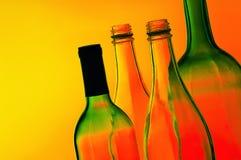 Flessen Royalty-vrije Stock Afbeelding