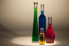 flessen Royalty-vrije Stock Afbeeldingen
