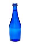 Flessen geïsoleerdh water Stock Afbeeldingen