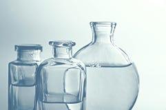 Flessen II van het glas Royalty-vrije Stock Fotografie