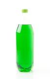Flessen met frisdranken Royalty-vrije Stock Foto