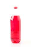Flessen met frisdranken Royalty-vrije Stock Afbeeldingen