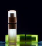 Flessen met parfum Royalty-vrije Stock Afbeelding